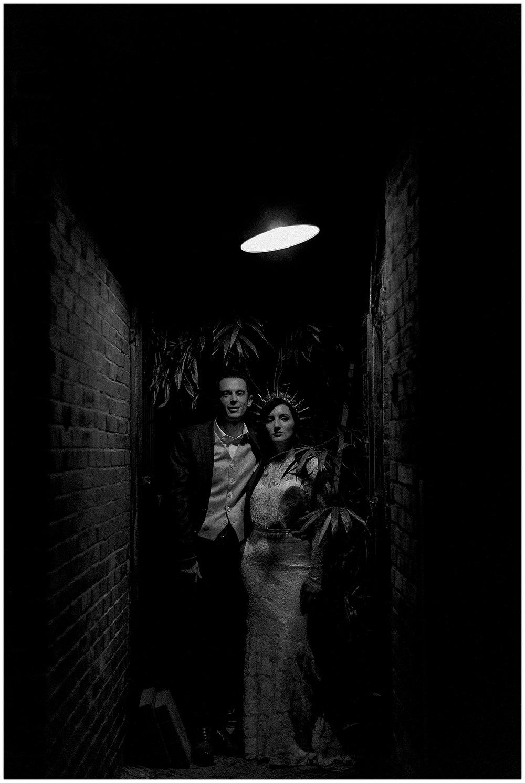 boujee wedding couple