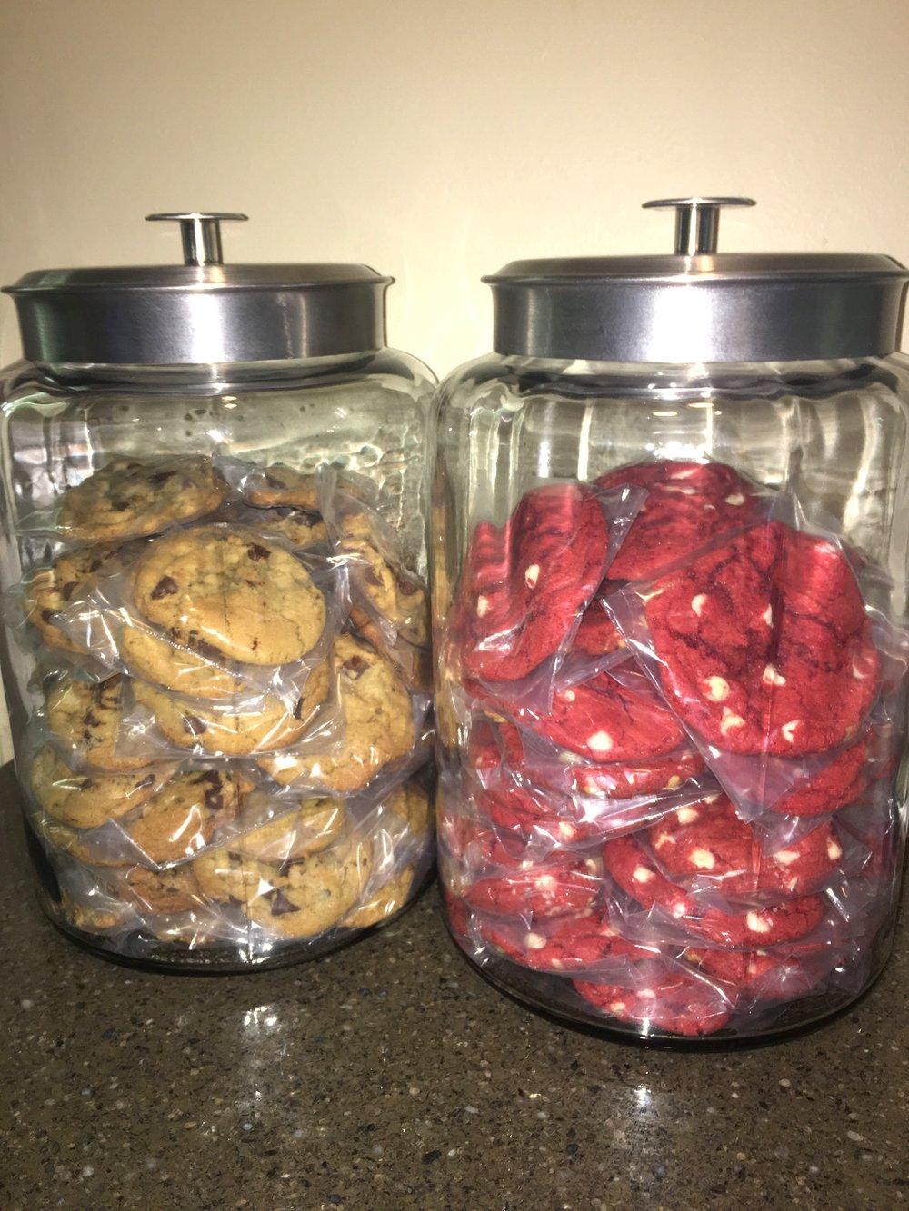 Gift Jar Full of Cookies