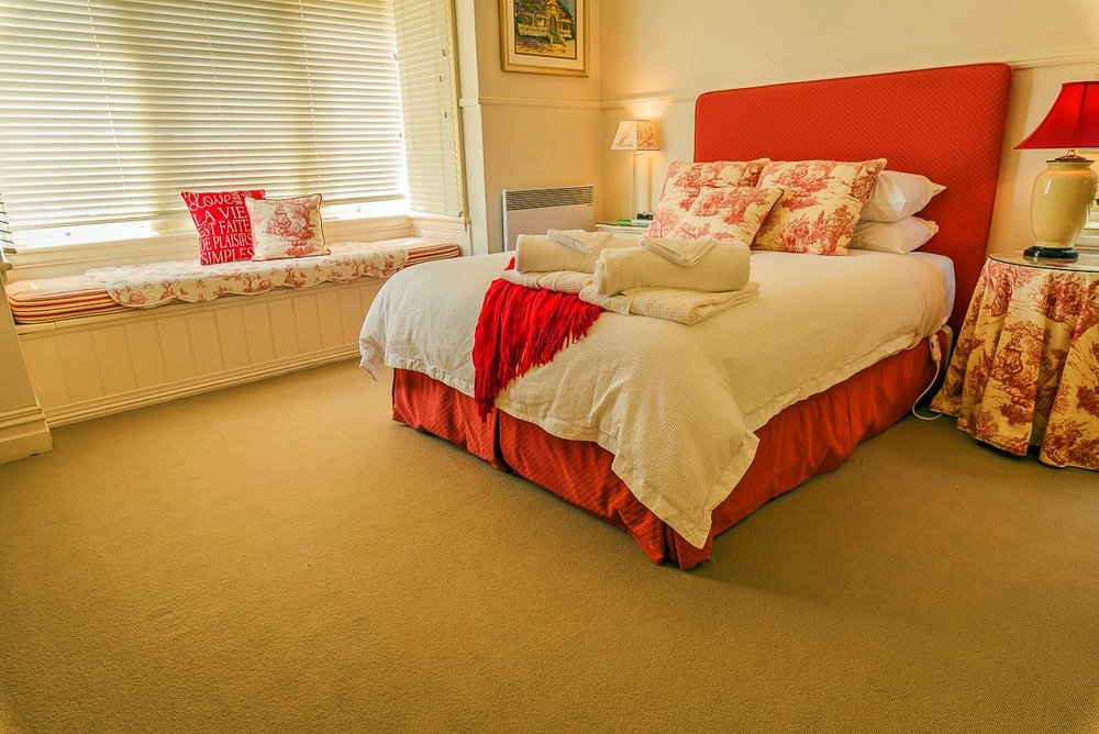 Red Room - This was the main bedroom of the farmhouse...