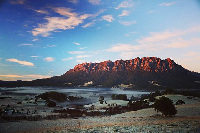 Beautiful nearby Mount Roland, Tasmania.