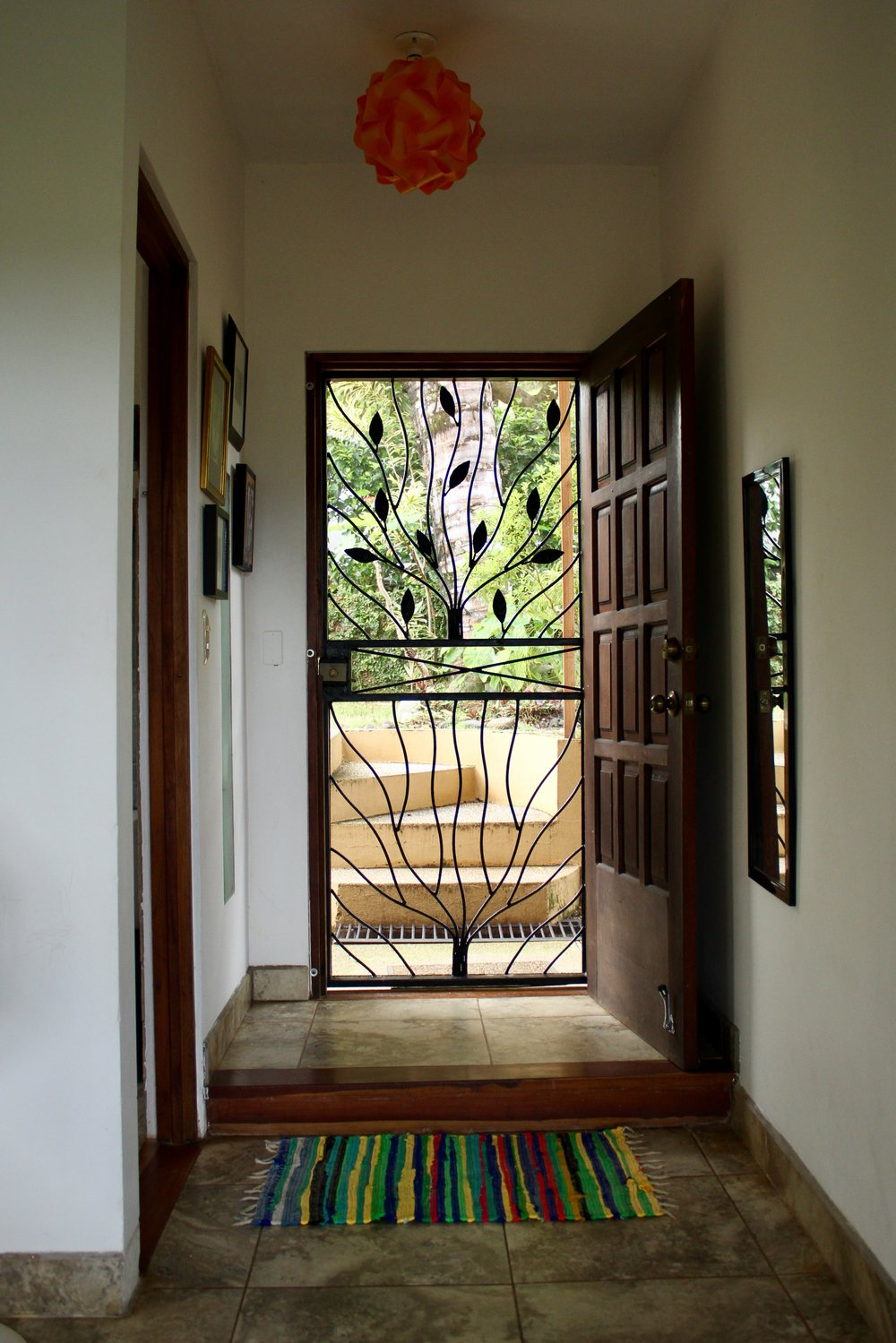 Entry Way to the House Costa Rica