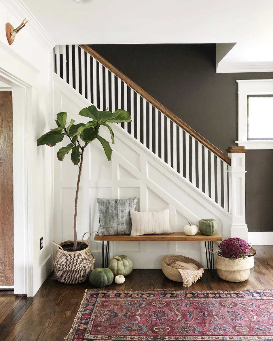 Our Narrow Entryway Inspiration Console Tables Thoughtfully Thrifted
