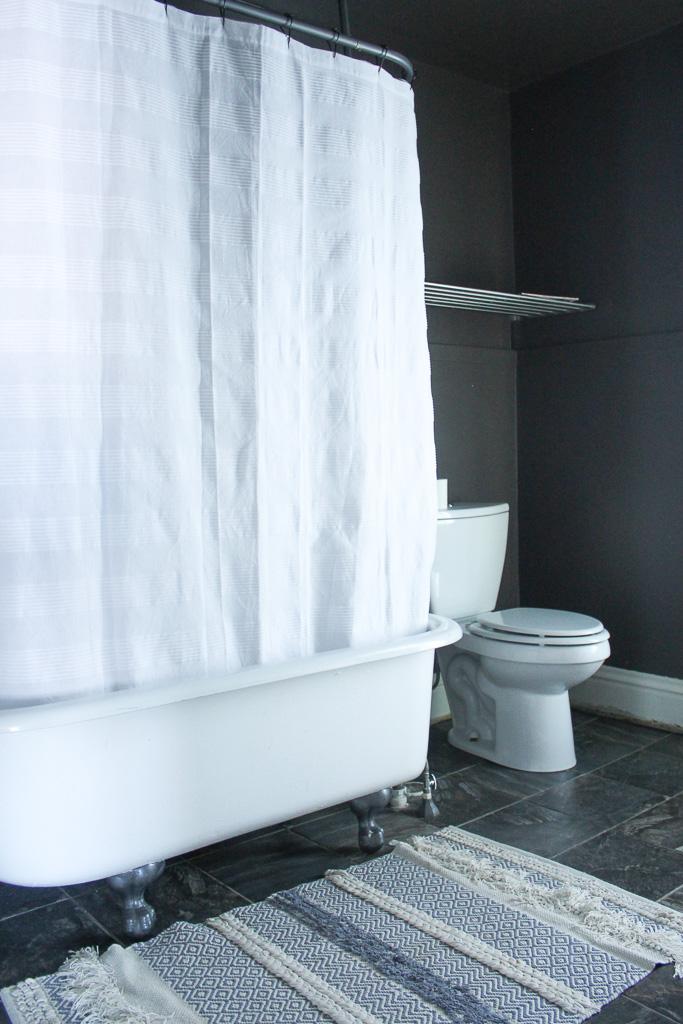 Thoughtfully Thrifted Bathroom Clawfoot Tub.jpg