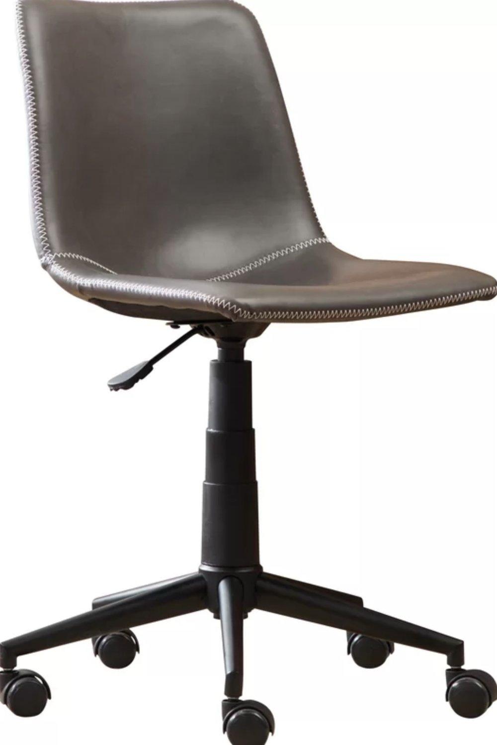 Alina Faux Swivel Air Lift Office Chair