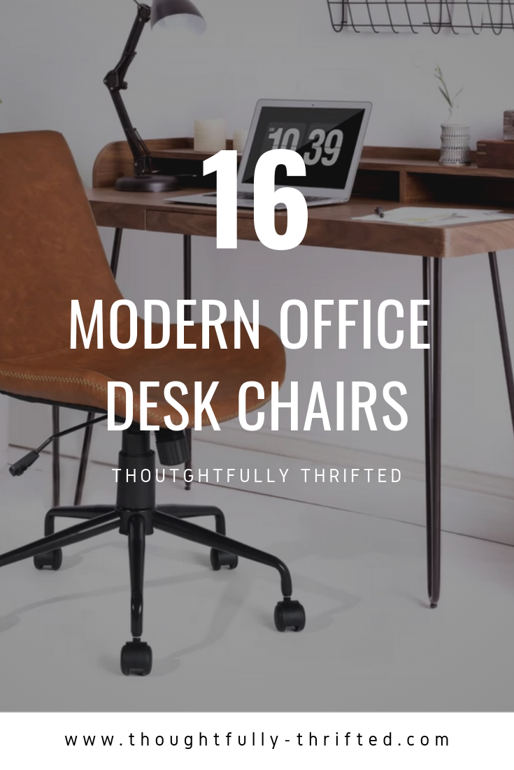 16 Modern Industrial Mid Century Office Chairs Desk Chairs