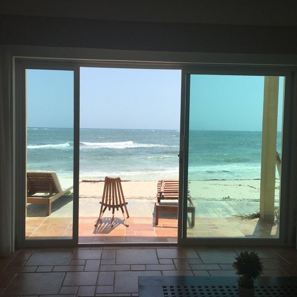 Tulum Mexico Beachfront Condo Airbnb