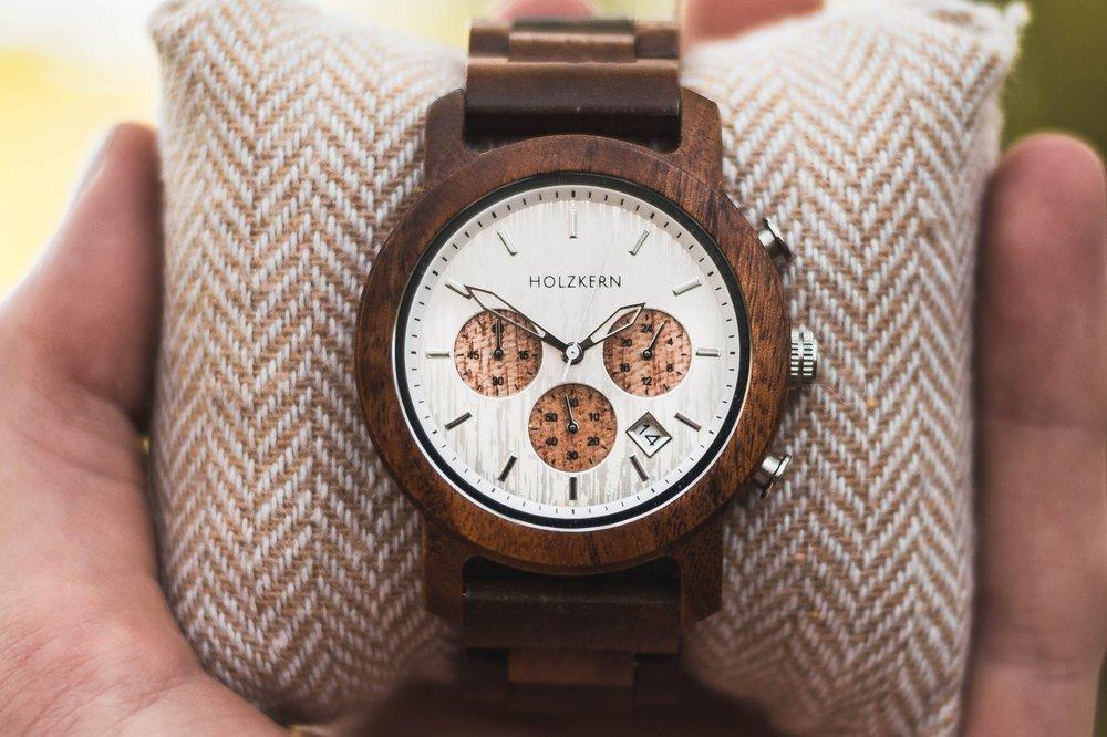Unique Valentine's Day Gift for Him | Wooden Watch