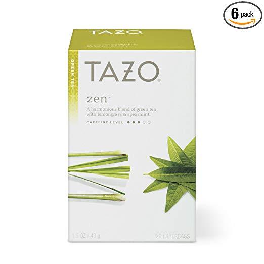 Tazo Green Tea 6 Pack