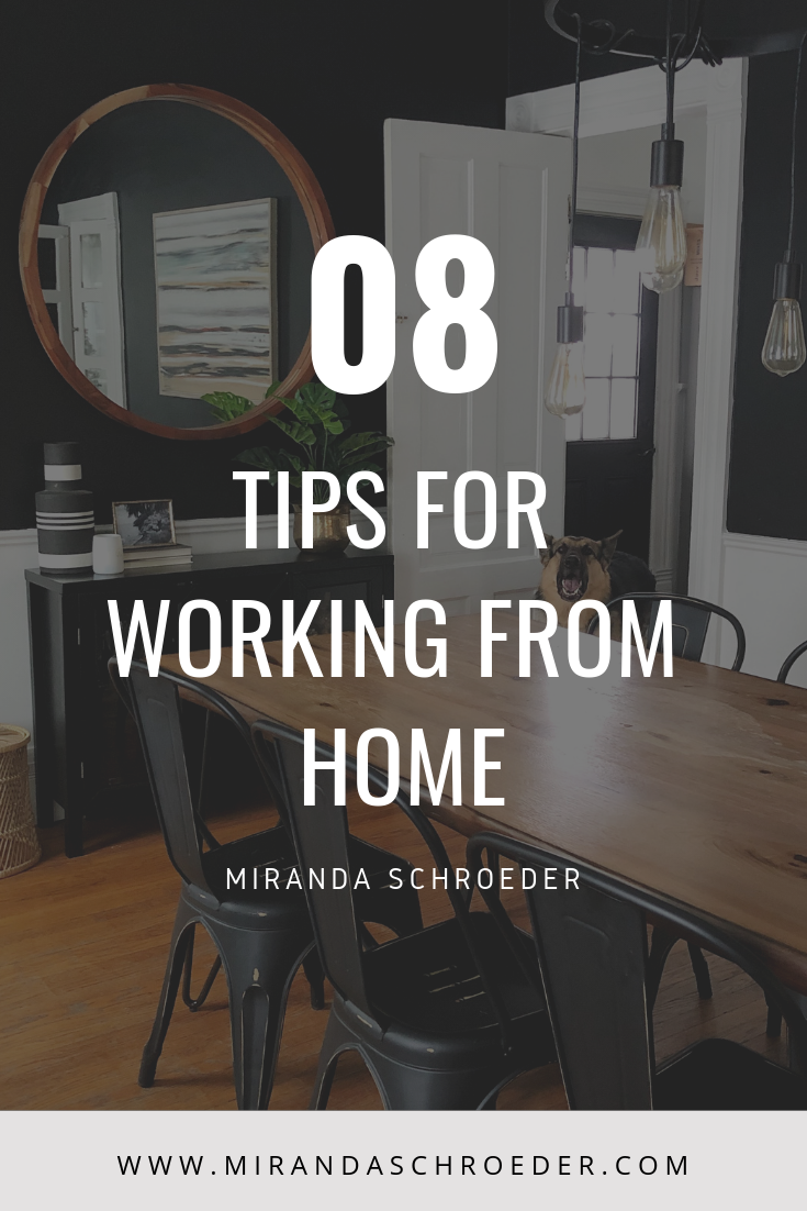 How to Avoid Isolation When You Work From Home | Tips for Working from Home | www.mirandaschroeder.com