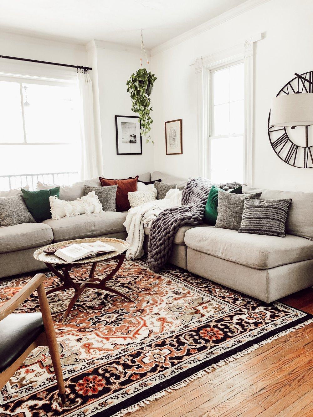 Living Room | Miranda Schroeder House Tour
