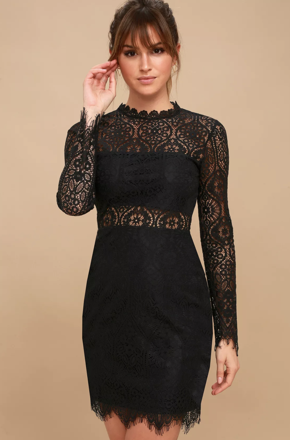 Little Black Lace Dress | Sexy | Shop Miranda Schroeder Blog