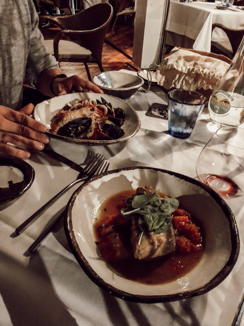 Dinner at Marina Grande Where to Eat Amalfi Coast | Three Days on the Amalfi Coast, Amalfi Travel Guide, What to Do in Amalfi Italy | Miranda Schroeder Blog