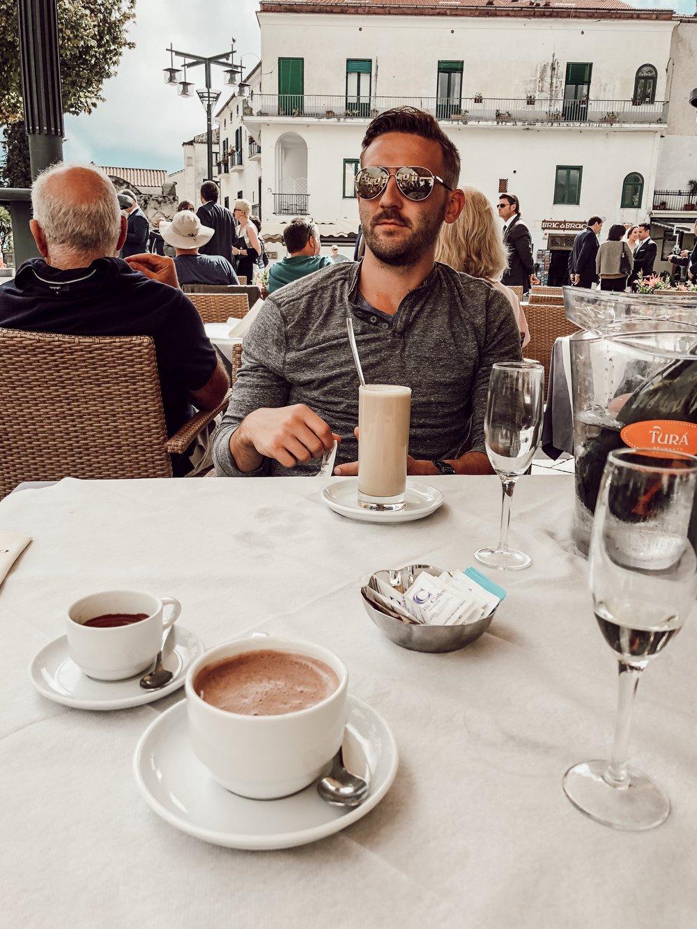 Cafe Ravello Italy | Three Days on the Amalfi Coast, Amalfi Travel Guide, What to Do in Amalfi Italy | Miranda Schroeder Blog