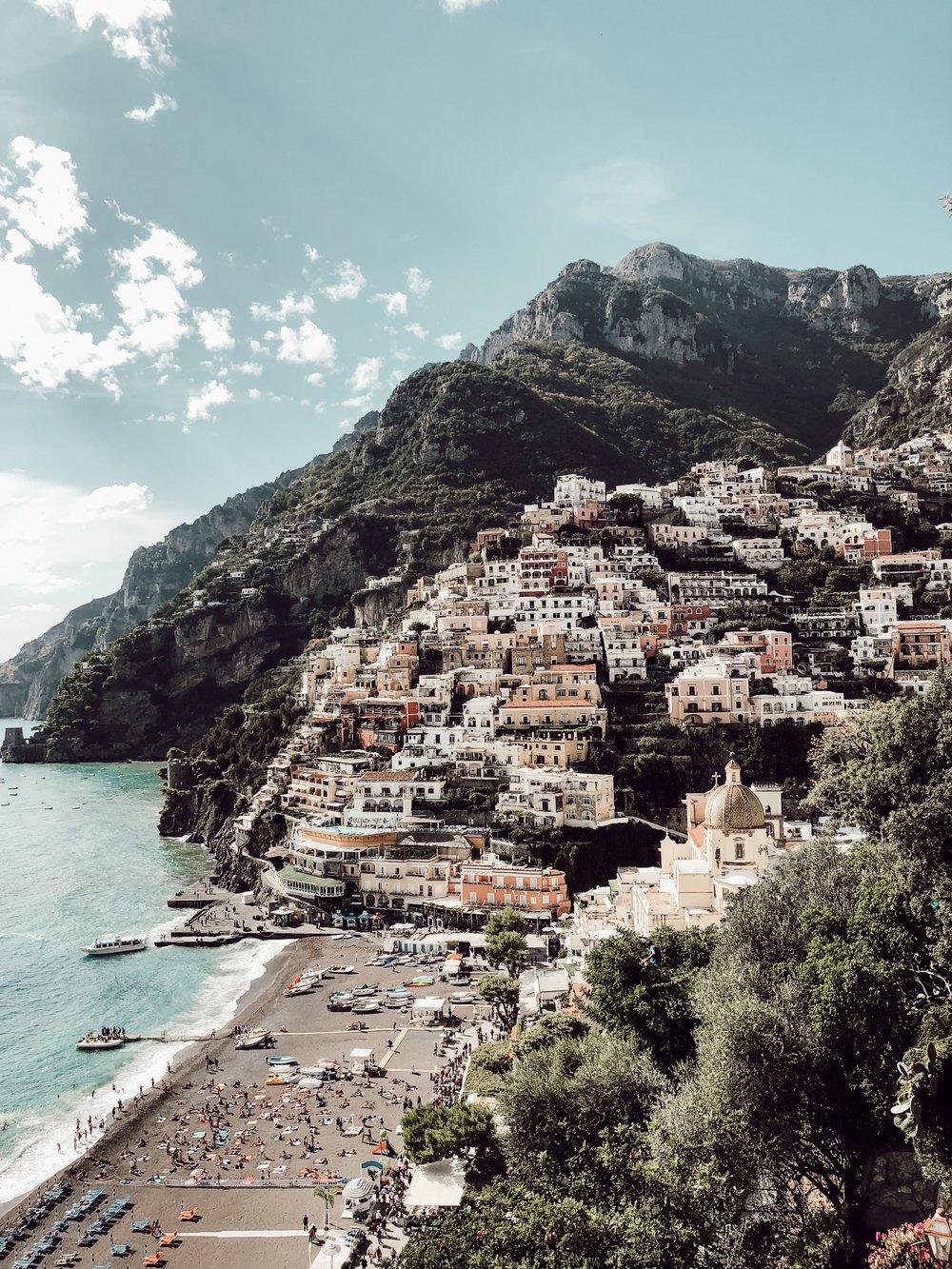 Positano Beach | Three Days on the Amalfi Coast, Amalfi Travel Guide, What to Do in Amalfi Italy | Miranda Schroeder Blog