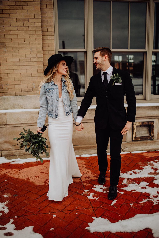 The Real Reason We Got Married 3 Months Before Our Wedding | Modern, Vintage Winter Courthouse Wedding | Miranda Schroeder Blog | www.mirandaschroedercom