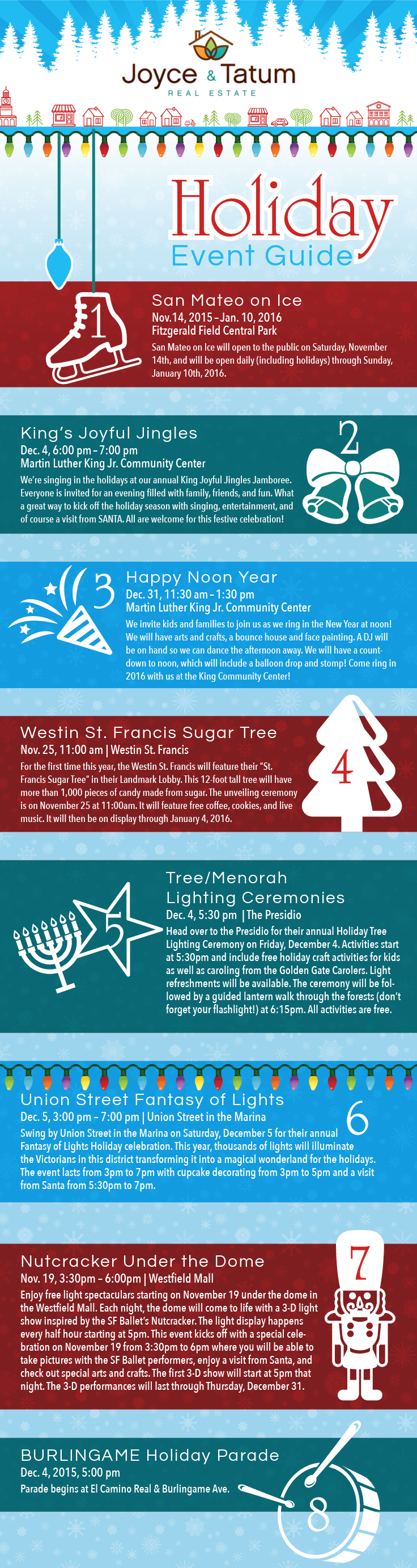 2015 Holiday Event Guide