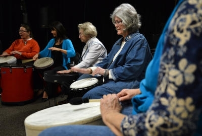 Article in the Mercury News: Drum Circle helps bring out inner peace, better health
