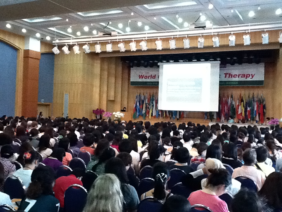Lecture at World Congress of Music Therapy