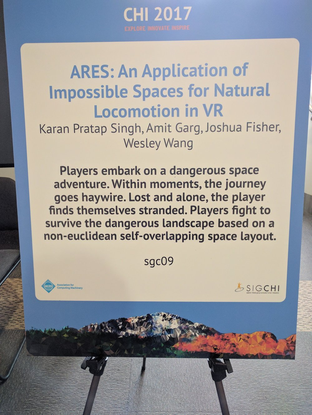 Ares Demo Placard