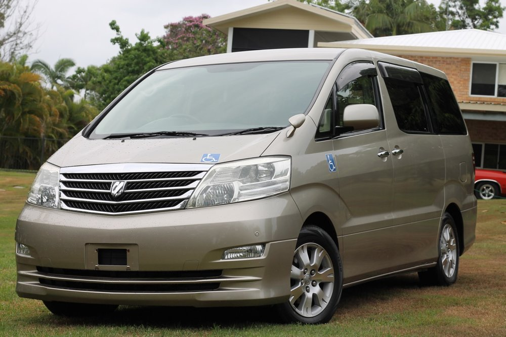 VIEW OUR TOYOTA ALPHARD RANGE