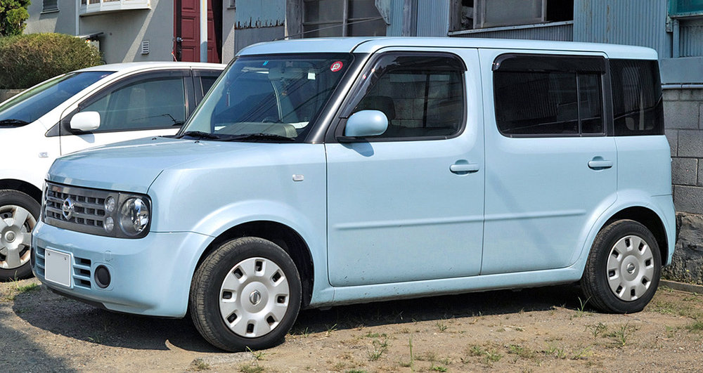 VIEW OUR NISSAN CUBE RANGE