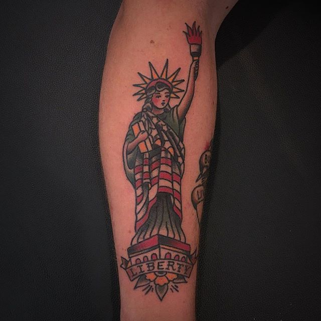 Tattoo by @wesleygarvick
