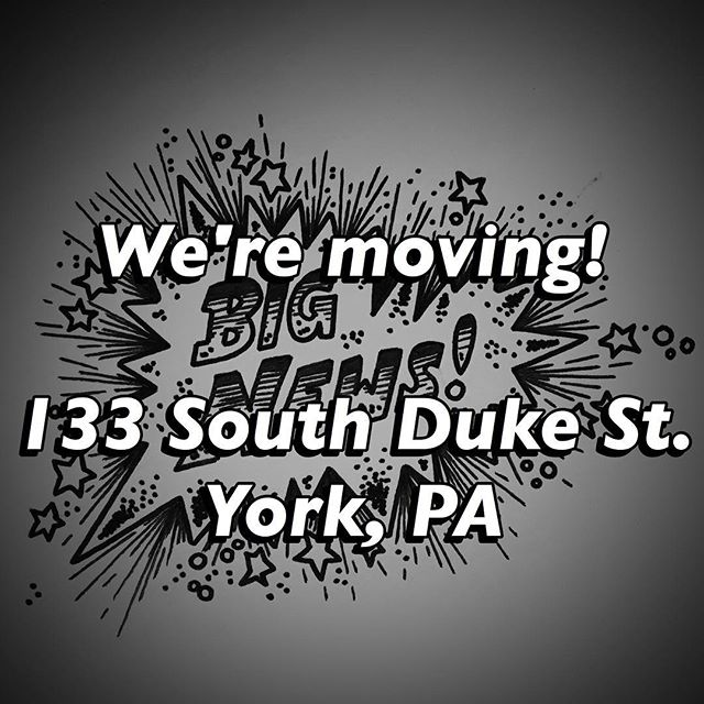 Big news! Starting September 1st, we will be moved into our new location on 133 South Duke Street. The new shop is right around the corner from our current location, across the alley from DiDi and Smiling John's Barber Shop. We will still be tattooing out of our current location until September 1st.  White Rose Tattoo Parlour would also like to thank all of our friends and clients for the overwhelming amount of support we've received so far that allowed us to expand in such a way. We look forward to seeing you in our new shop.
