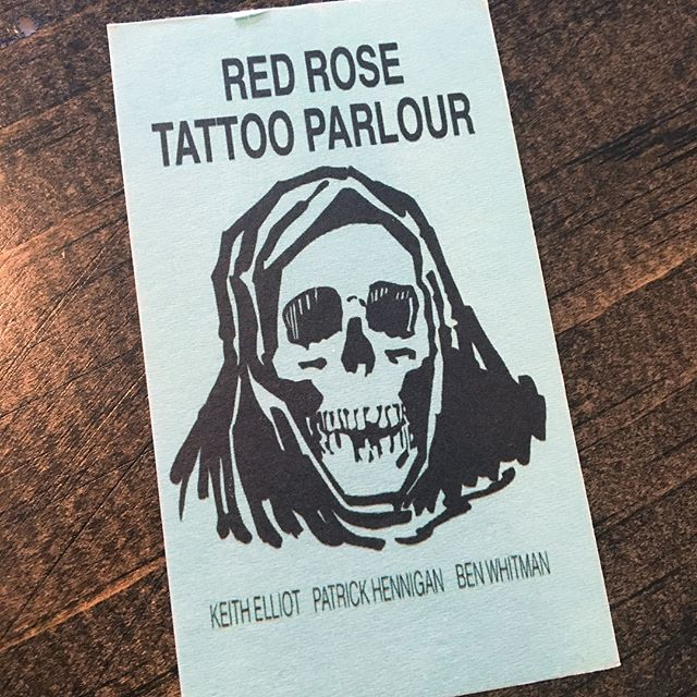 This Friday you can find us tattooing with our good friends @keithelliottattoo @whitmantattoo and @patrickhennigan at Red Rose Tattoo Parlour, for their annual Friday the 13th event. We will be tattooing designs from 70's tattoo flash at the original prices listed on the sheets. First come first served. See you there!