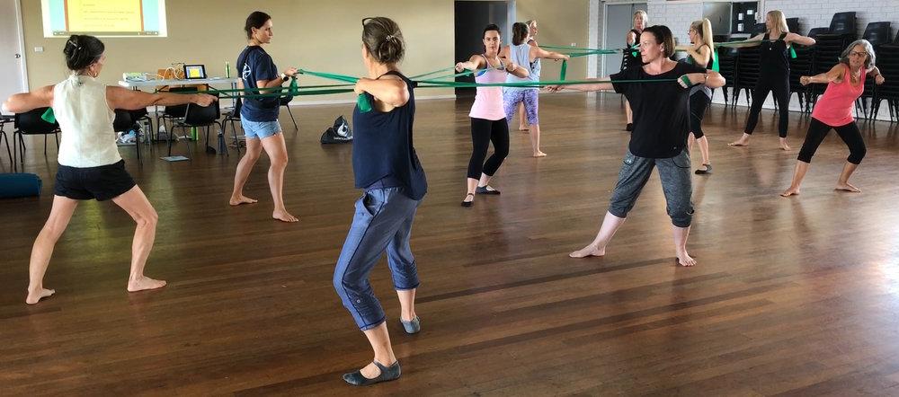 Pilates and Fascia - Fit Together workshop.