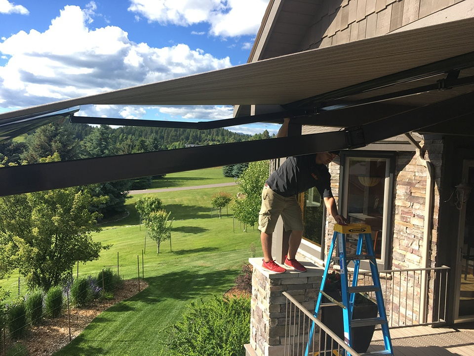 Portfolio Window Treatments Awnings In Kalispell Mt