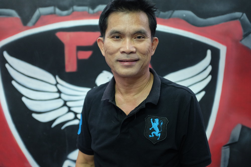 Mr. Liam the manager of FA Group Gym