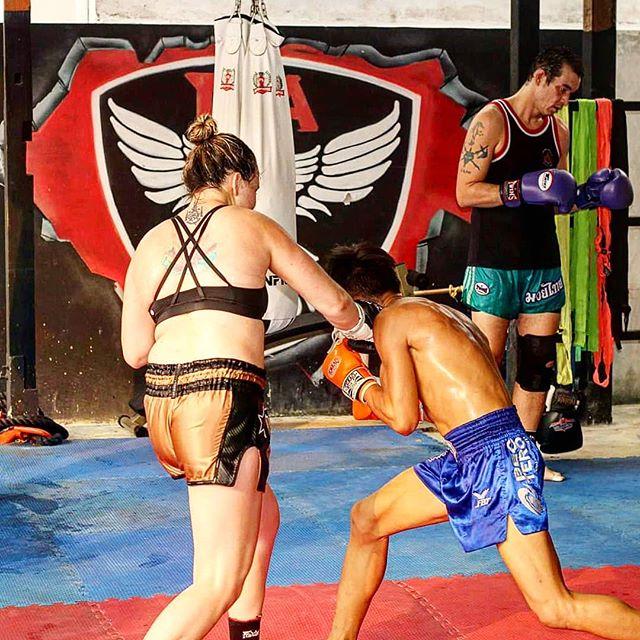 Slip 😱👌 #fighter #champion #fightcamp #muaykhao #muaythai #nakmuay #fagroupmuaythai #infightstyle