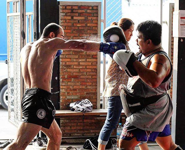 Don't stop working  #champion #fightcamp #fighter #muaykhao #muaythai #nakmuay #fagroupmuaythai #infightstyle