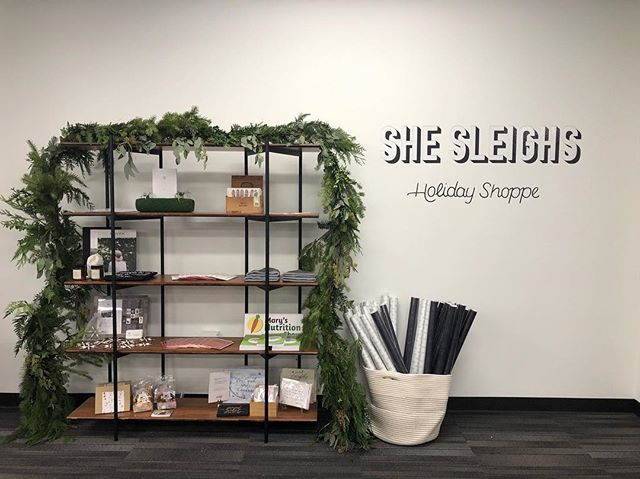 I've been a little quiet on here but keeping busy! During the month of December, come visit The Riveter in Capitol Hill and Bellevue for our She Sleighs Holiday Shoppe! . . Support and shop local. Open Mon-Friday, 8am-5pm. I've got a handful of items for sale in #Bellevue 🥳