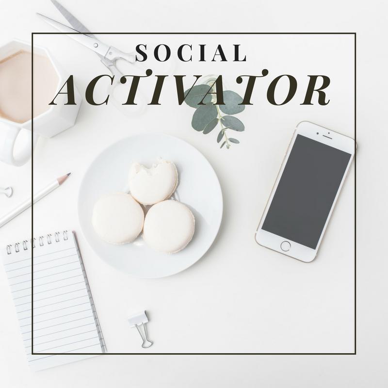 Social Activator Anchor & Dash