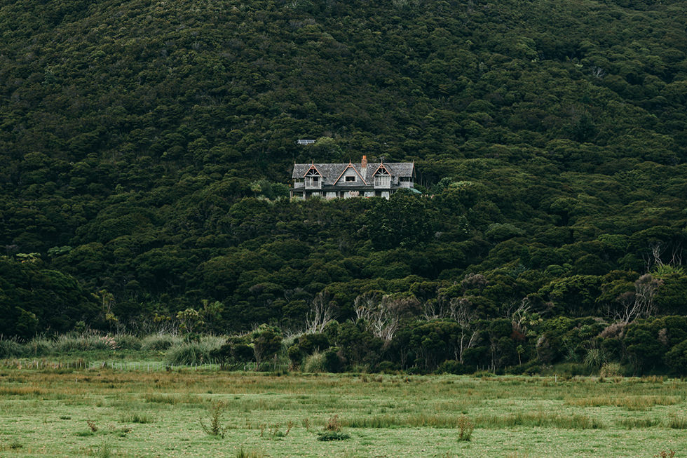 Mount Saint Paul Estate Great Barrier Island Wedding