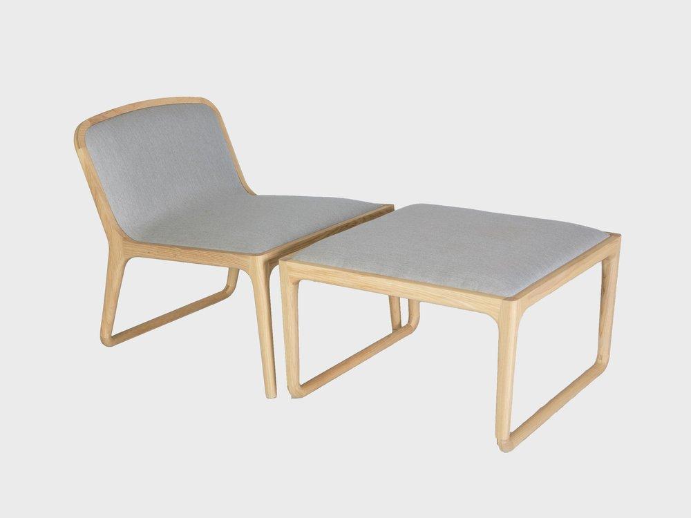Brandberg Occasional Chair & Ottoman