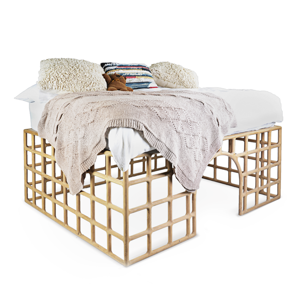 Joburg Bed bedroom kids children furniture David Krynauw design ontwerp solid wood hout oak 100% Design