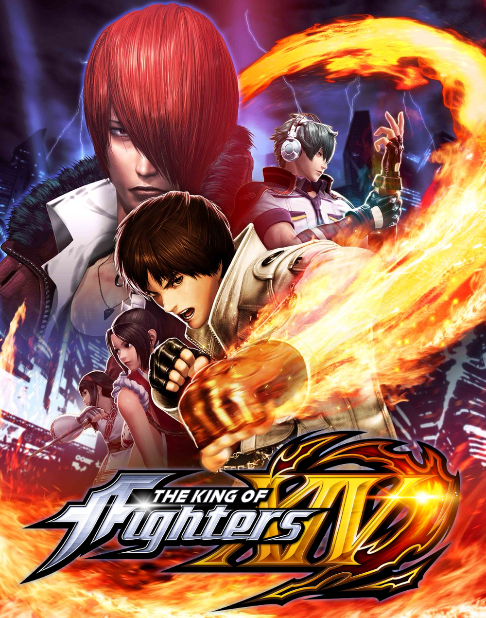 KING OF FIGHTERS XIV SYSTEM VOICE