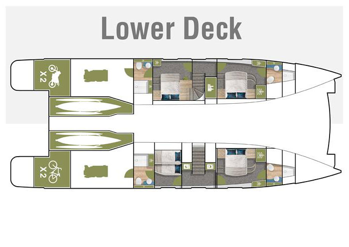 Samara Lower Deck Layout