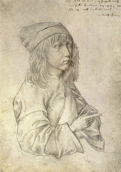 Self-portrait at 13, Albrecht Dürer
