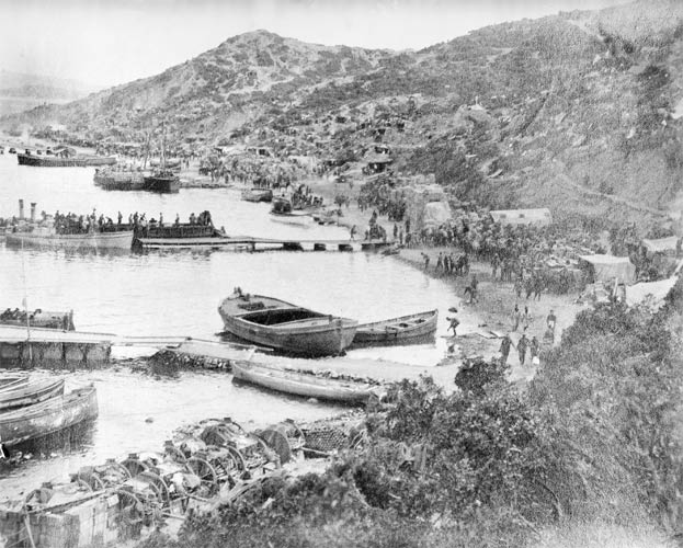 Anzac Cove, mid-summer 1915