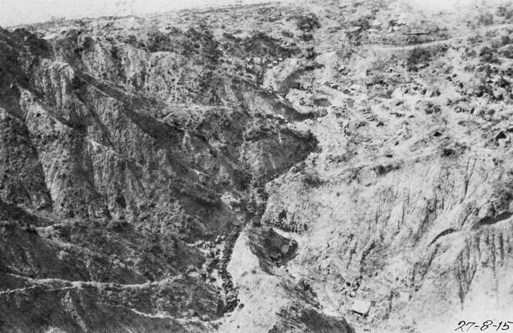 Walker's Ridge, Gallipoli, 1915