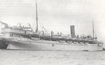 "His Majesty's Hospital Ship ""Reva"", World War I"