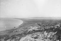 1915 View fron Walker's Ridge towards Suvla Plain