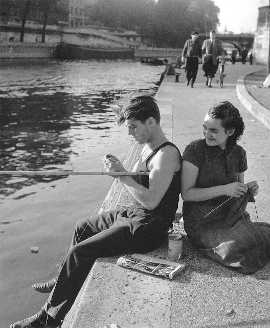 By the Seine , Robert Doisneau