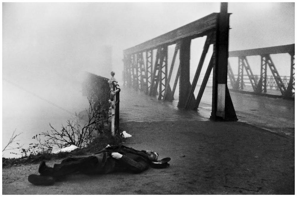 Near Strasbourg , 1945, Henri Cartier-Bresson
