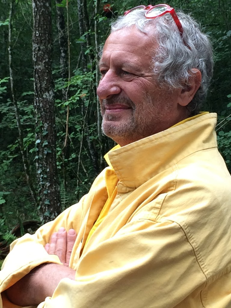 Alain Bresson at the Forest Inauguration (image courtesy of Michelle Anderson Binczak)