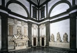 Miichelangelo's New Sacristy,  San Lorenzo Church, Rome