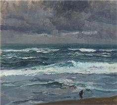 Northern Seascape, oil, Joaquí Sorolla (image courtesy of Museo Sorolla)